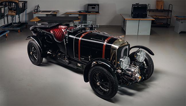 Bentley Blower Continuation Car Zero