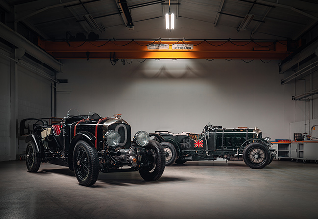 Bentley Blower Continuation Car Zero