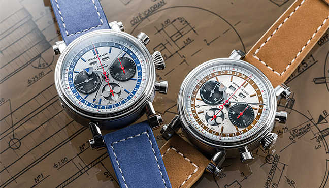 Speake-Marin London Chronograph Triple Date