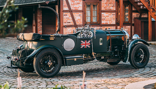 Bentley 4½ litres Supercharged Tourer