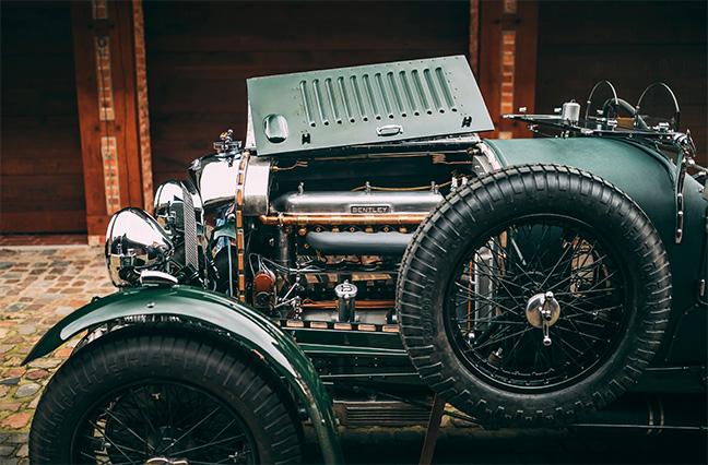 Bentley 4½ litres Supercharged Tourer