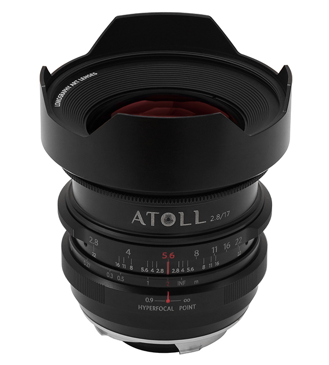 Atoll Ultra-Wide Art Lens