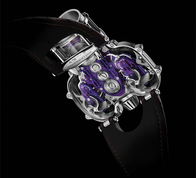 MB&F Horological Machine N°9 Sapphire Vision
