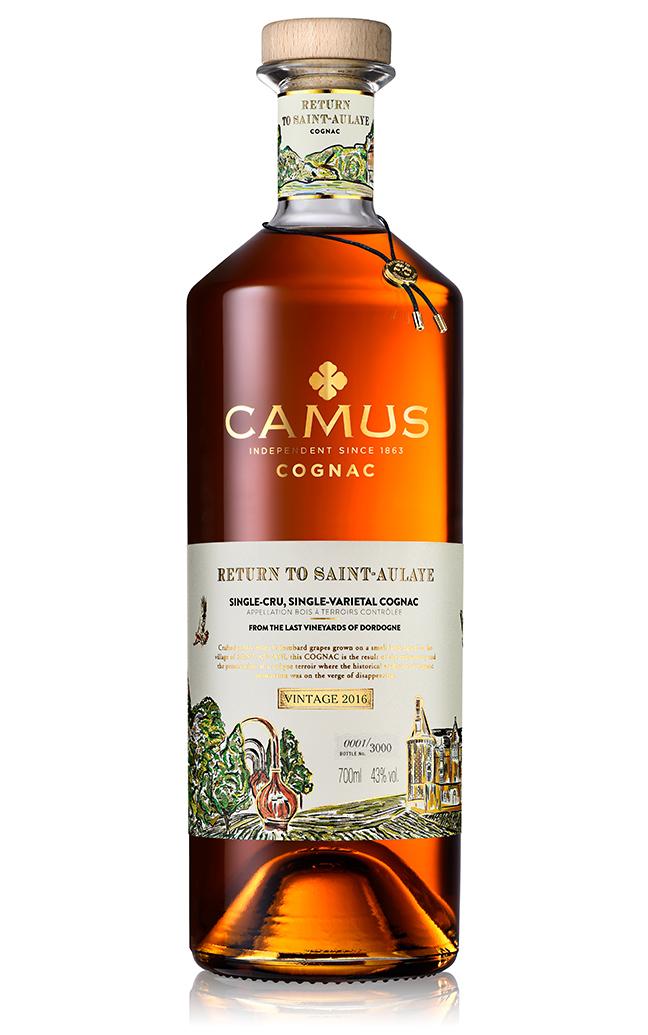 Cognac Camus - Retour à Saint-Aulaye