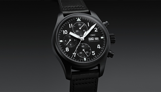 IWC Schaffhausen Chronographe Édition Tribute to 3705