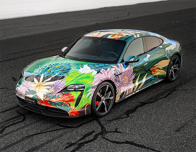 Porsche Taycan 4S Artcar