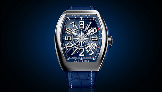 Franck Muller Vanguard Yachting Crazy Hours
