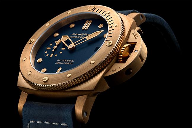Panerai Submersible Bronzo Blu Abisso