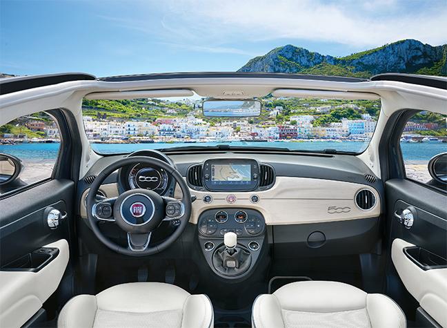 Fiat 500C Yacht Club Capri