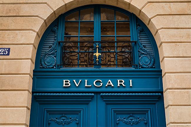 Boutique Bvlgari Paris