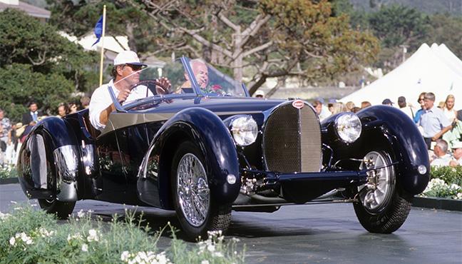 Bugatti - Pebble Beach Concours d'Elegance