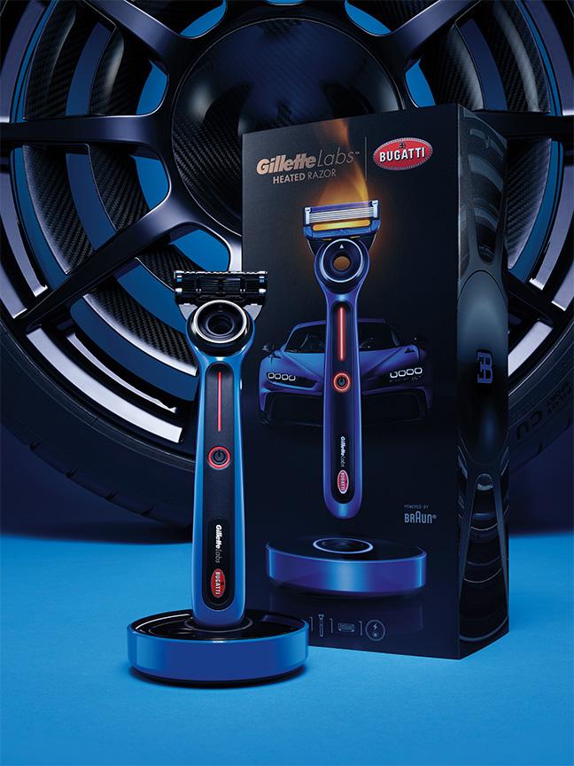GilletteLabs et Bugatti