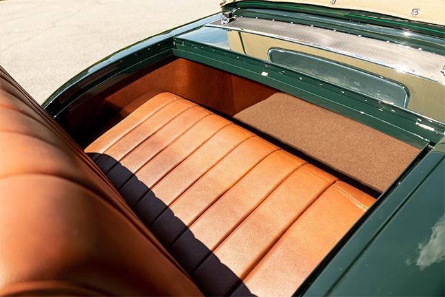 Duesenberg Model J Roadster Green Hornet